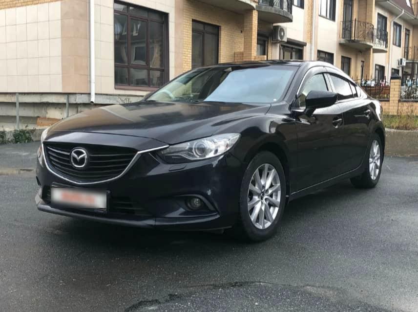 Деньги под залог Mazda 6